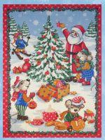 Новогодние вафельные полотенца оптом от «Ева» г. Иваново