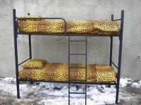 Металлические кровати для бытовок, больниц
