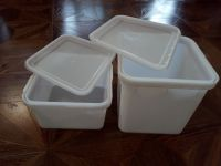 Куботейнер12л. и 23л. пищевой с плотной крышкой, под мед, икру, разносолы.