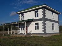 Новый блочный благоустроенный дом