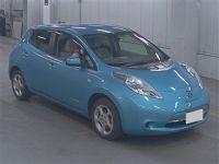 Электромобиль хэтчбек Nissan Leaf кузов ZE0 модификация G Cold District гв 2011