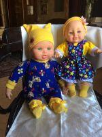 Продам солнечный кукол прошлого века ростом 42 и 36 см.