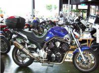 Мотоцикл naked bike Yamaha BT1100 рама RP05 кофр гв 2002