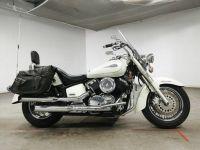 Мотоцикл круизер Yamaha Dragstar 1100 Classic рама VP13J боковые мотосумки гв 2000